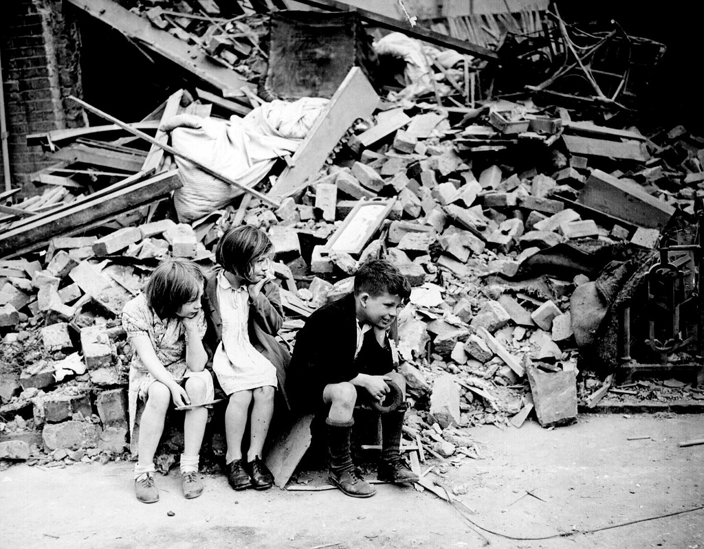 How was london affected in world war 1?