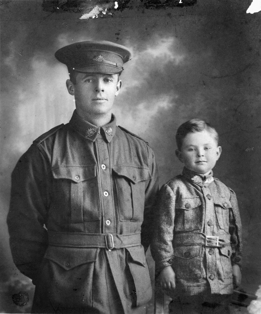 Father & Son World War 2